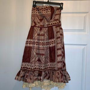 Plenty by Tracy Reese Strapless silk dress